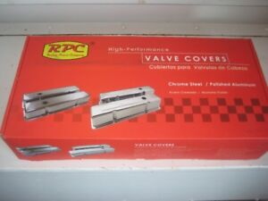 ford 302 5litre chrome valve covers