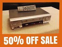 Samsung SV-651B VHS VCR Video Cassette Recorder Player NTSC Nicam Tested,