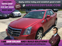 $98 PER WEEK TAXES INCLUDED OAC GIVES YOU THIS CTS 4 AWD