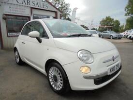 FIAT 500 1.3 MULTIJET 75 LOUNGE White Manual Diesel, 2010