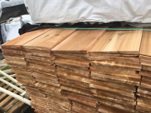 Western Red Cedar – Bevel STK Board 11/16x10""