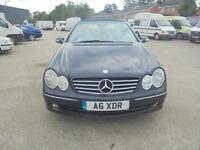 Mercedes-Benz CLK240 2.6 auto Avantgarde CONVERTIBLE - 2003 53-REG -9 MONTHS MOT