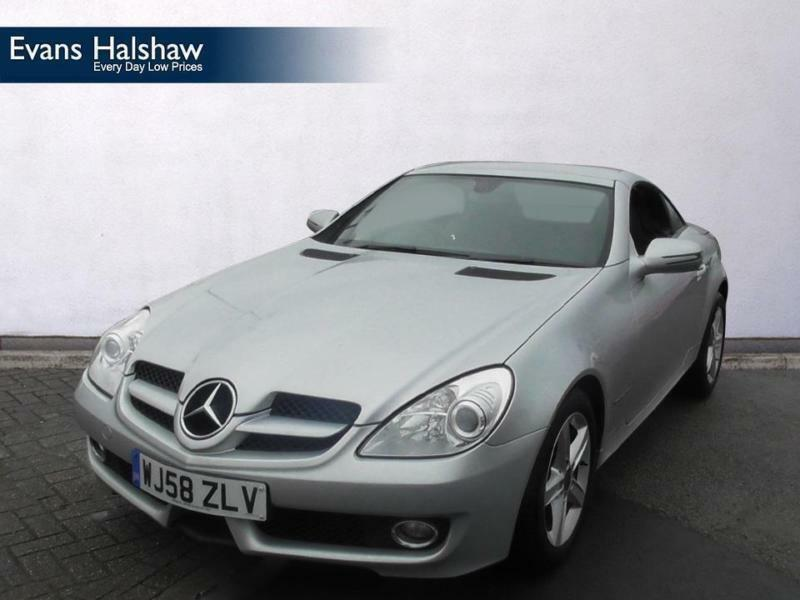 2008 mercedes benz slk mercedes benz slk slk 200k 2dr tip auto petrol in aston west midlands. Black Bedroom Furniture Sets. Home Design Ideas