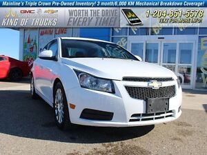 2012 Chevrolet Cruze ECO I Fuel Efficient  - SiriusXM -  OnStar