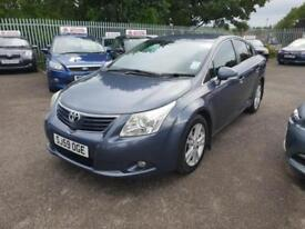 TOYOTA AVENSIS 2.0 D-4D T4 4DR 2010 / 1 OWNER / FDSH / HPI CLEAR / 6 SPEED