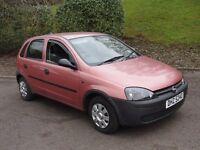 Vauxhall Corsa 1.2 SEMI AUTO (red) 2002