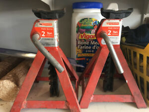 Set of two 2 Ton Axle Stands