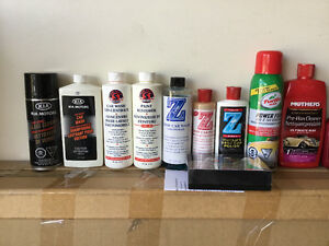 CAR CARE & CLEANING Products * Meguiar Zaino Mothers Sym Tech