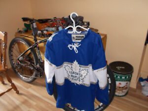 Leaf Sweater and Blue Jay Jersey