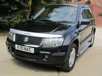 "Suzuki Grand Vitara 2.0 16v ""8"" Suzuki Main Dealer Stamps 94,546 Miles From New"