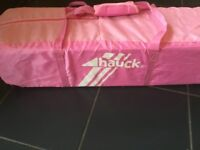 Hauck travel cot - used twice