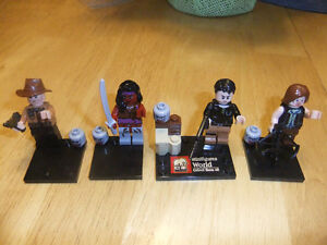 Walking Dead characters (20 pcs set), Lego compatible