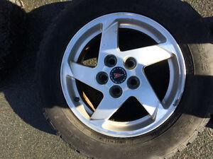Pontiac Grand Prix wheels and tires