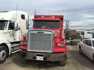 2001 Freightliner Triaxle Dump Truck for sale with Job