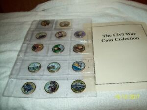 CIVIL WAR COIN COLLECTION