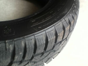 """4 WINTER TIRES 15"""" - USED FOR ONLY 1 SEASON"""