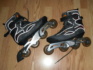 MEN'S K2 ESCAPE ROLLER BLADES SIZE 10 US