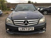2007 Mercedes-Benz C Class C200 Saloon 2.1CDi 136 Sport A5 Diesel grey Automatic
