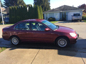 2002 Acura EL Sedan Manual Transmission- $2850.00 OBO