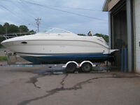 2006 Sea Ray 250 Amberjack & Trailer