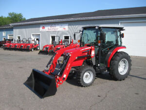 Massey Ferguson 42hp Premium Cab Tractor with Loader