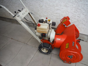 6 h.p.  ariens snowblower  24 in. --electric start