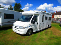 Autocruise Stardream two berth motorhome with U shape lounge for sale
