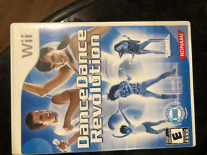 Wii Game - Dance Dance Revolution