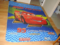 Like New Pixar Cars Twin Bedding Set Bed in a Bag - $60!