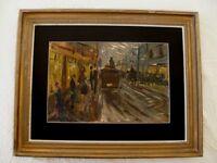 Impressionist Oil Painting - listed Dutch artist Barend Van Der Bruggen