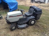 "*****New price *****  white lawn tractor 16hp 42""cut"