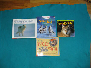 Wolf Theme Primary/Jr Reading Books