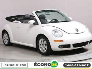 2010 Volkswagen New Beetle Comfortline A/C CUIR CONVERTIBLE MAGS