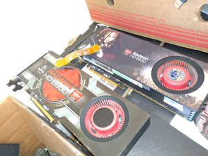 2 AMD Radeon HD 6950/6970 2GB GDDR5 HDMI Dual Mini DP
