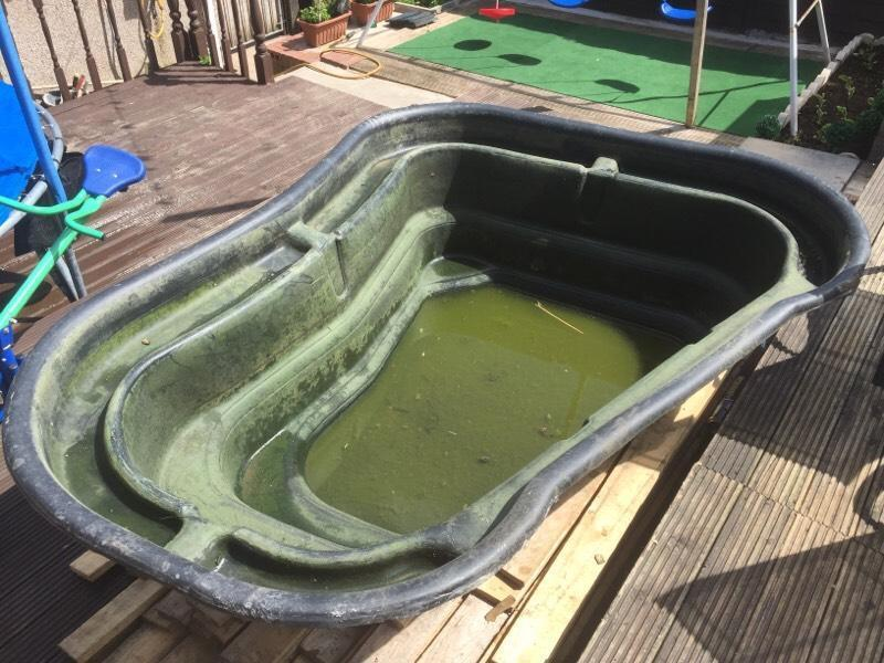 Full 750ltr pond setup koi goldfish united kingdom gumtree for Pond filter setup