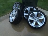 OEM Bmw wheel with tires
