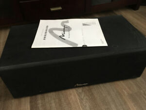 Mirage center channel speaker