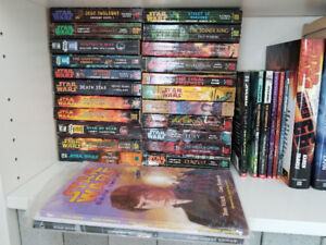 Star Wars Book Collection more than 70 Books   2 Comic Books