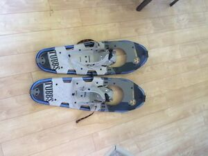 Tubbs frontier snow shoes.