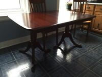 Gibbard dining room table