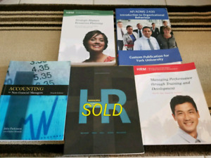 Human Resources Manager Textbooks