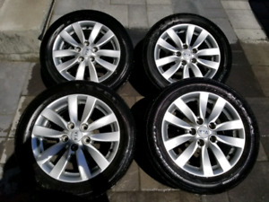 205/55/16 kia forte 2016 mags and tires