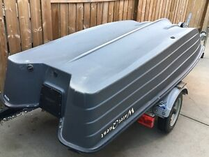 Bass Hound 10.2 Fishing Boat And EASY LOAD TRAILER For Sale