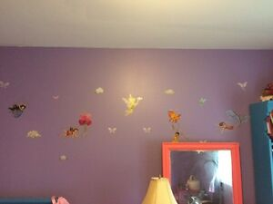 Tinkerbell and fairies wall stickers St. John's Newfoundland image 2