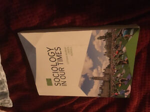 (New) SOCIOLOGY TEXTBOOK LAMBTON COLLEGE FOR SALE