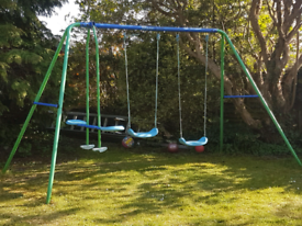 Kidsactive Double swing and seesaw