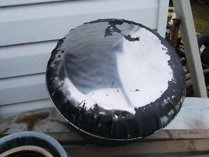 """CHIMNEY PIPE, CLEANOUT, 6"""", top hat for chimney"""
