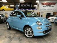 2016 Fiat 500 500c My17 1.2 69hp Lounge Convertible Convertible Petrol Manual