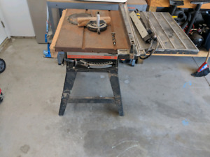 Craftsman 12 inch table saw