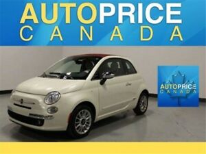 2013 Fiat 500C Lounge Lounge|CONVERTIBLE|LEATHER